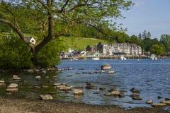 Waterhead on Lake Windermere royalty free stock images