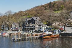 Free Waterhead Pier At Ambleside, A Lakeside Town By Windermere Lake Within The Lake District National Park In England, UK Royalty Free Stock Photography - 119614897