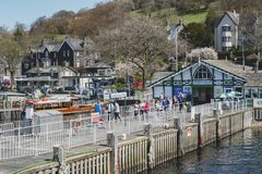 Free Waterhead Pier At Ambleside, A Lakeside Town By Windermere Lake Within The Lake District National Park In England, UK Royalty Free Stock Photos - 119614898