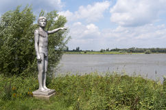 Waterhoogtebeeld by artist Marcel Smink. Stock Image