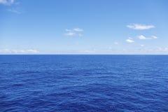 Waterhorizon royalty-vrije stock afbeelding