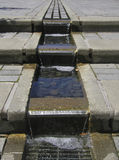 Waterige Stappen Royalty-vrije Stock Foto