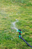 Watering Automatic sprinkler Stock Photo