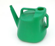 Watering can. Against a plain white background Royalty Free Stock Image