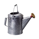 Watering can. An old metal watering can Stock Photography