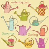 Watering Can Collection Stock Photography