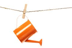The watering can Stock Photography