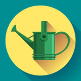 Watering can icon. Irrigation symbol. Flat Vector illustration. Watering can icon. Irrigation symbol. Flat Vector illustration Royalty Free Stock Image
