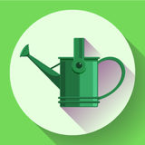 Watering can icon. Irrigation symbol. Flat Vector illustration. Watering can icon. Irrigation symbol. Flat Vector illustration Stock Images