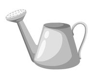 Watering can  illustration isolated on white.  Stock Photography