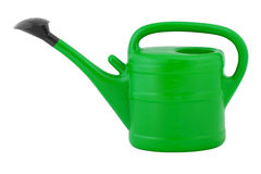 Watering can. Watering can isolated on white background stock photography