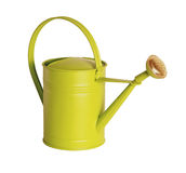 Watering can isolated on white Royalty Free Stock Images