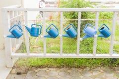 Watering can at kindergarten school. Thailand Stock Image