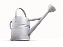 Watering can made of metal Stock Images