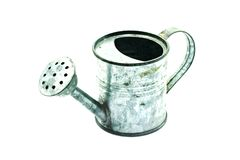 Watering Can Metal Royalty Free Stock Photo