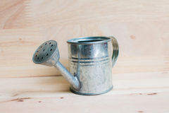 Watering Can miniature Stock Image