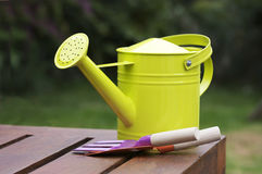 Watering can still life Stock Photography