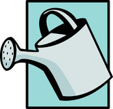 Watering can vector illustration Stock Images