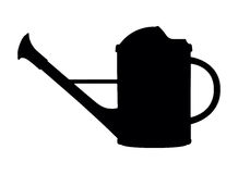 Watering can, vector illustration Stock Image