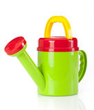 Watering can white background Royalty Free Stock Photo