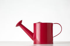 Watering can on white background Stock Photos