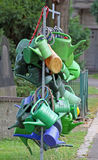 Watering cans Royalty Free Stock Photos