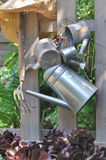 Watering cans Royalty Free Stock Images