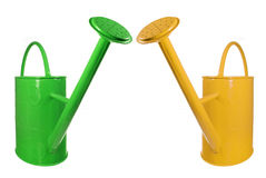 Watering Cans Royalty Free Stock Photography