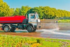Watering car Stock Photos