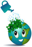Watering Earth Stock Photos