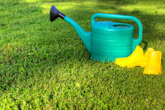 Watering Royalty Free Stock Photo