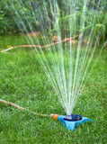 Watering garden Royalty Free Stock Photos