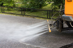 Watering machine Royalty Free Stock Photography