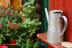 Watering Tin can Stock Images