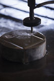 Waterjet metal cutter Stock Photos