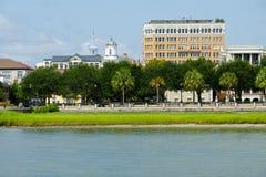 Waterkant in Charleston, Sc stock fotografie