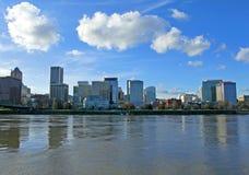 Waterkant de Van de binnenstad van Portland Royalty-vrije Stock Fotografie