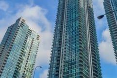 Waterkant de van de binnenstad van Toronto Stock Afbeeldingen