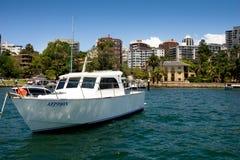 Waterkant die, Sydney Australia leven stock afbeeldingen