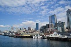 Waterkant, Seattle, Washington Stock Afbeelding
