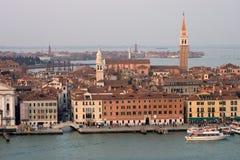 Waterkant van Venetië Royalty-vrije Stock Afbeeldingen