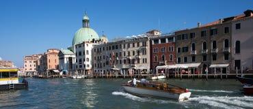 Waterkant Venetië Royalty-vrije Stock Fotografie
