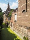 ` Waterke Groen ` или зеленый ручеек, Mechelen Стоковая Фотография