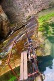 Waterkering in ronda, andalusia, Spanje Royalty-vrije Stock Fotografie
