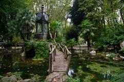 Waterklok in Pincio, Rome Stock Foto's