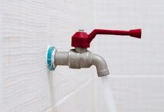 Waterkraan Stock Foto