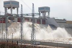 Waterkrachtcentrale Stock Foto's