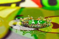 Waterkroon royalty-vrije stock afbeeldingen