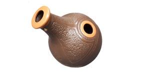 Waterkruik kleine ceramisch Decoratief Art handmade Stock Foto