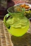 Waterkruik limonade. Royalty-vrije Stock Fotografie